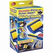 Щетка валик для чистки одежды ковра Sticky Buddy, фото 3