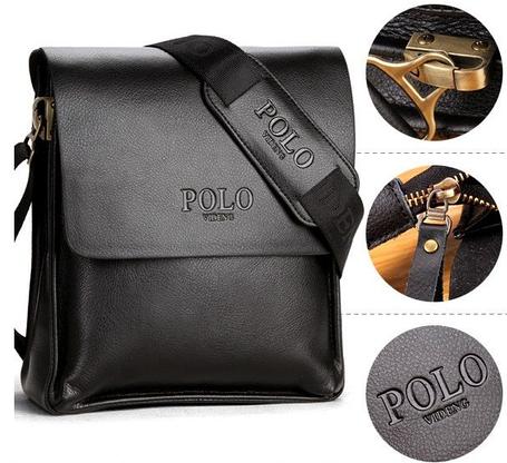 Кожаная сумка Polo Videng, фото 2