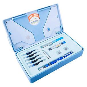 Детский корректор осанки STRAINT PEN голубая ручка, фото 2