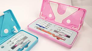 Детский корректор осанки STRAINT PEN розовая ручка, фото 2