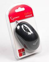 Проводная мышь gembird mus-u-01 black usb