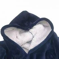 Плед-халат на флисе  HUGGLE HOODIE - BLANKET, фото 2