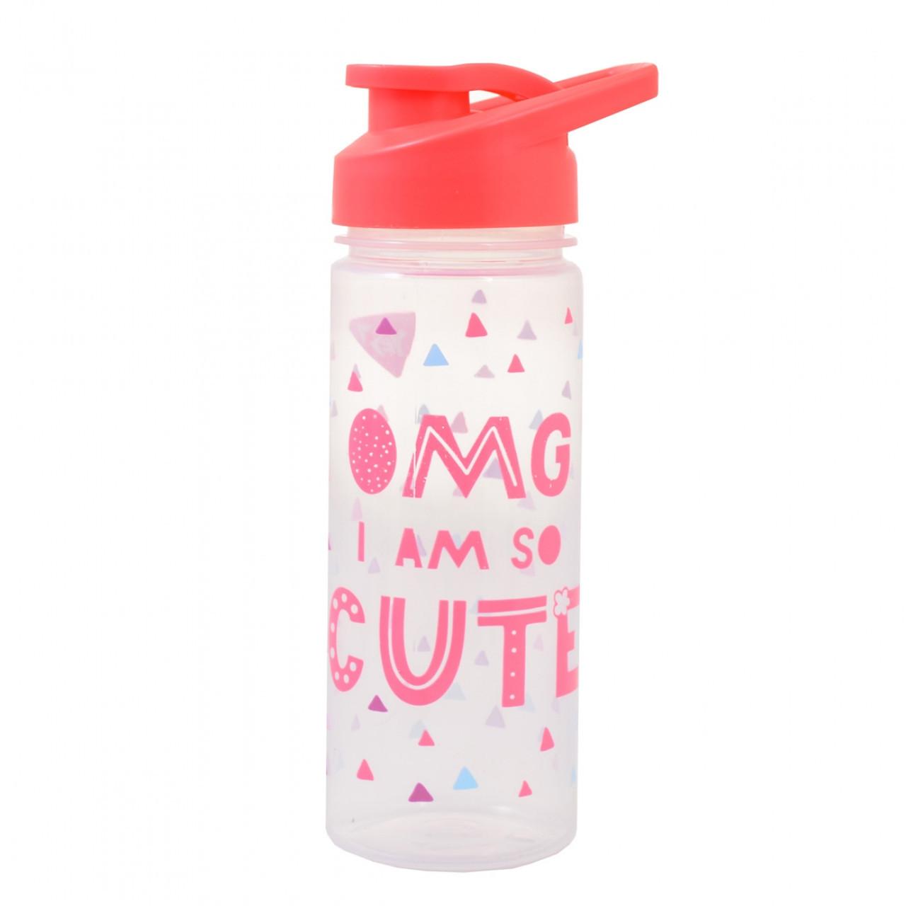 """Бутылка для воды YES """"OMG"""", 500 мл"""