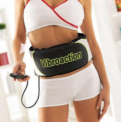 Пояс вибромассажер для похудения Vibroaction H0229, фото 2