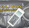 Массажный пояс сауна для похудения Велформ Sauna Massage Velform H0232, фото 4