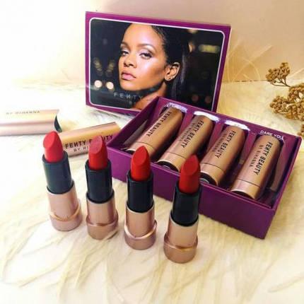 Набор матовых помад Fenty Beauty by Rihanna, фото 2