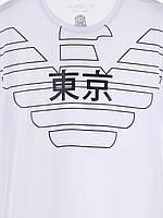 "Футболка ""JEANS"" М/Л 1014 Белый, фото 3"