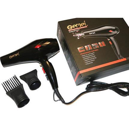 Профессиональный фен для волос Gemei GM-1767 3000W, фото 2