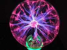 Плазменный шар Plasma Light Magic Flash Ball BIG, фото 3
