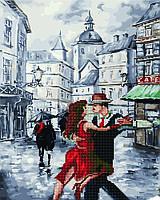 Алмазная мозайка+Картина по номерам Танго на площади GZS1020 40x50 см., Rainbow art