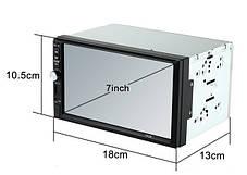 Автомобильная магнитола MP5 2DIN 7012 Little USB с рамкой,USB+Bluetoth+Камера, фото 2