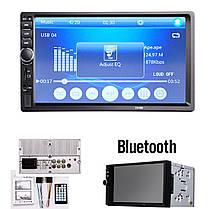 Автомобильная магнитола MP5  2DIN 7018 USB  с рамкой , USB+Bluetoth+Камера, фото 3