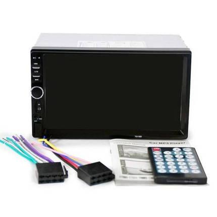 Автомобильная магнитола MP5  2DIN 7018 USB  с рамкой , USB+Bluetoth+Камера, фото 2
