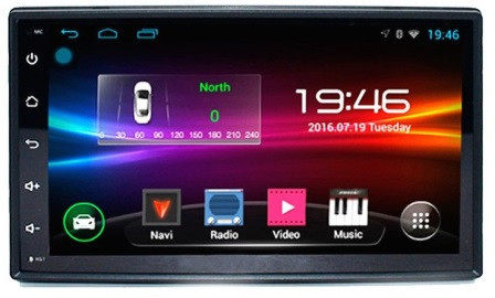 Магнитола автомобильная 2DIN android 4S