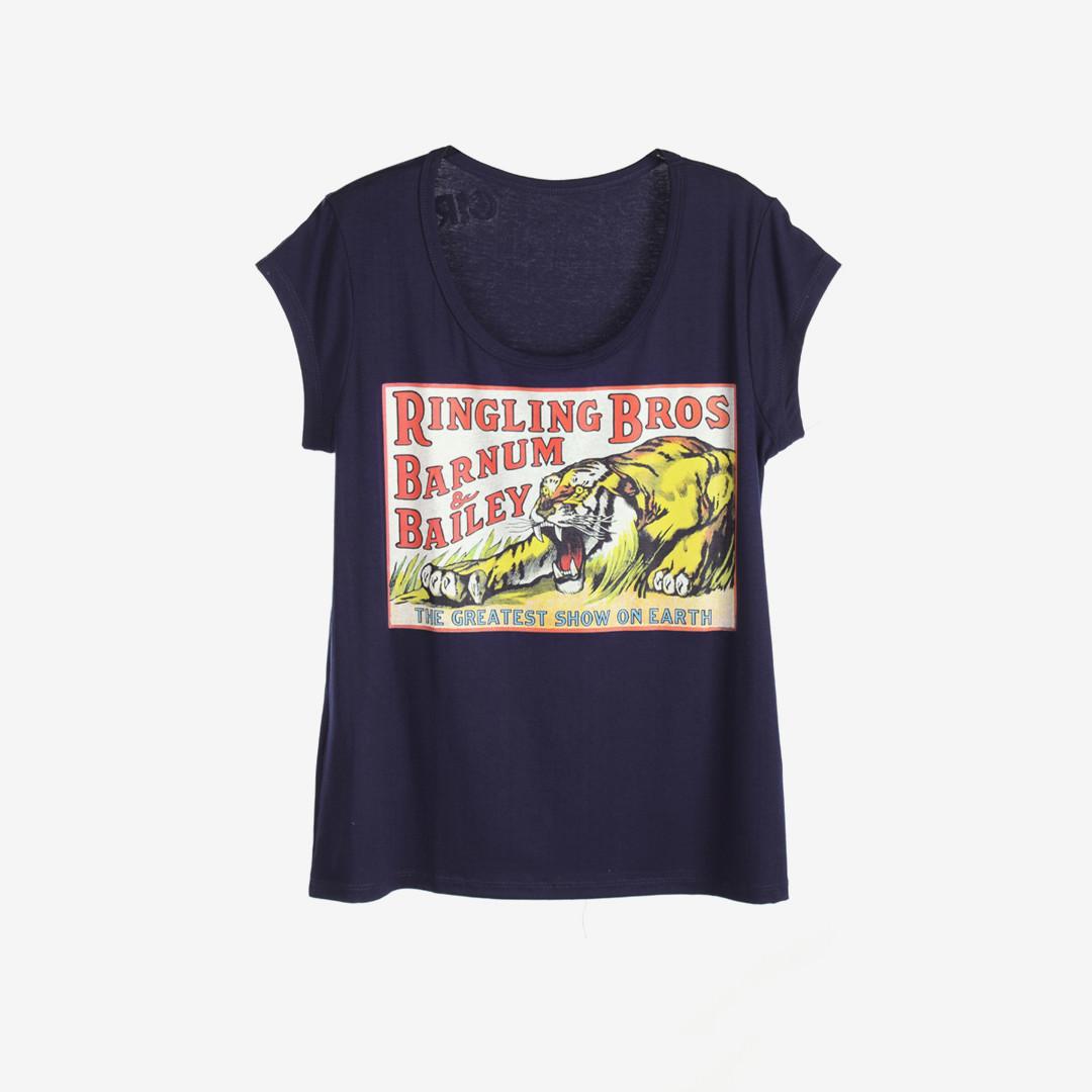 """Женская футболка """"SHOW"""" М/Л 948 Синий"""