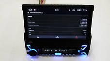 Магнитола автомобильная с пультом и выездным экраном 1DIN DVD-9505 Android GPS, фото 3