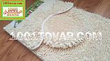 """Набор из 3-х ковриков из микрофибры """"Макароны или дреды"""" в ванную 80х50 см. и туалет 35х50 см., 40х35 см., фото 3"""