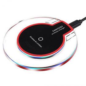 Зарядное для android Wireless Charger Fantasy с адаптером беспроводное