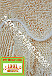 """Набор из 3-х ковриков из микрофибры """"Макароны или дреды"""" в ванную 80х50 см. и туалет 35х50 см., 40х35 см., фото 2"""