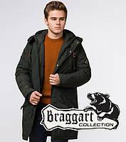 Braggart Arctic 13620 | Мужская зимняя парка хаки