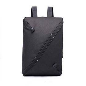 Городской рюкзак UNO bag Black с USB