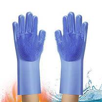 Рукавички багатофункціональні силіконові Silicone Magic Gloves, фото 3