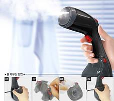 Пароочиститель отпариватель ручной Cas DF-019 steam brush, фото 2