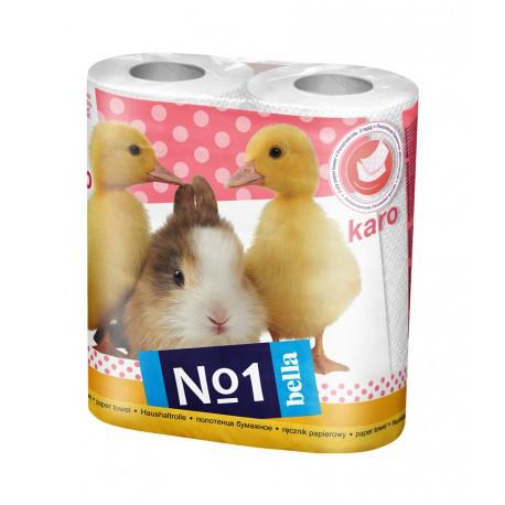 Бумажные полотенца Bella Karo 2шт упаковка