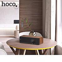Портативная колонка Hoco BS13 cobalt wooden tabletop wireless speaker (EU)