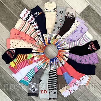 Дитячі демісезонні шкарпетки бавовна Класік, 21-23, 14 розмір, асорті, 06460