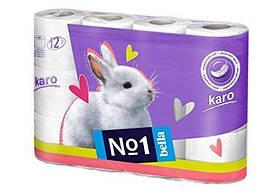 Туалетная бумага Bella Karo 12шт упаковка