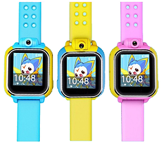 Смарт-часы для детей Smart Watch TW6-Q200 (3 цвета) Розовые, фото 3