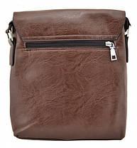 Брендова сумка для чоловіка Jeep Buluo 9008 коричнева, фото 3