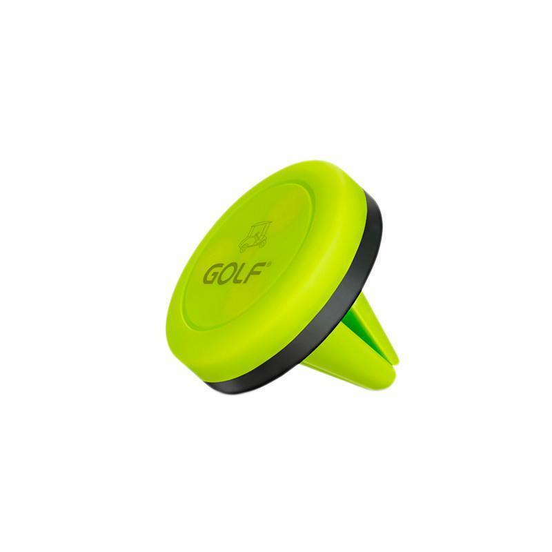 Держатель  Golf GF-CH02 Magnet Green (Крепление вентеляционная решетка)