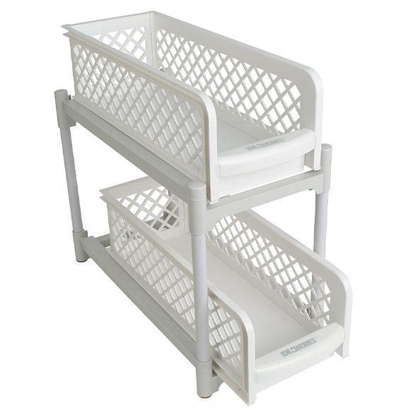Органайзер на два ящика Basket Drawers Portable для кухни и ванной