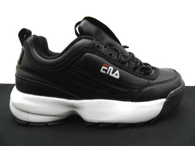 Кроссовки подростковые * Fila 208-2 черный * 22519