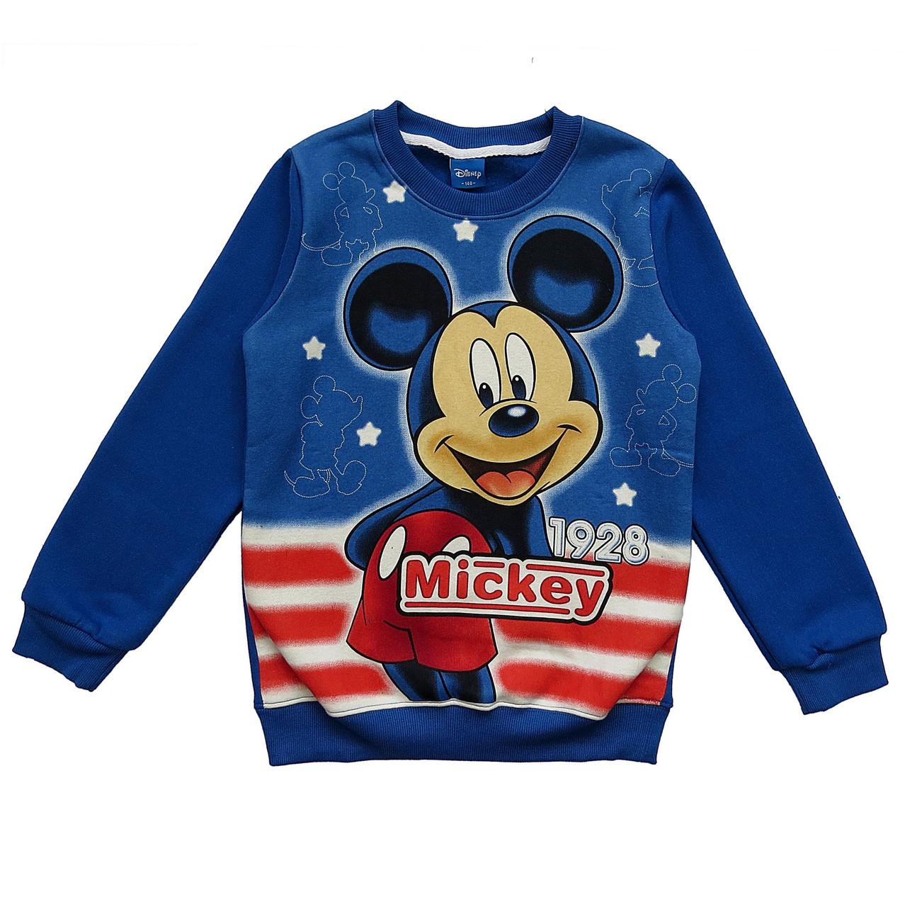 Теплый свитшот Mickey Mouse для мальчика.