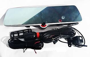 Видеорегистратор автомобильный зеркало на три камеры 5'' + touch C33