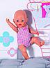 Одежда для куклы Baby Born Боди розовое Zapf 827536-2