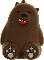 Аккумулятор TOTO Портативная батарея TOTO TBHQ-91 Power Bank 8800 mAh Emoji Bear Brown F_77247