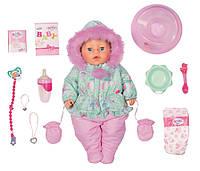 Кукла Baby Born Зимняя Красавица (Нежные объятия) 43 см Zapf 827529