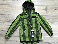 Демисезонная куртка на подкладке без утеплителя. 4- 12 лет.