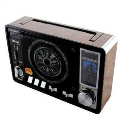 Портативный радио приемник Golon RX 951 FM , цифровой радиоприёмник с большим динамиком MP3, фото 2