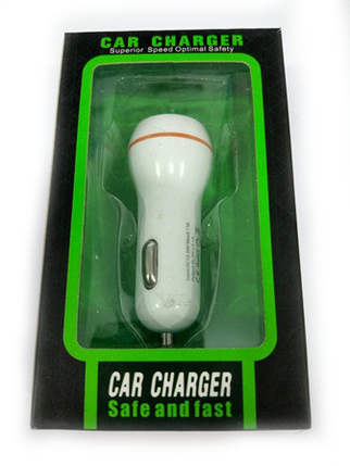 Зарядка автомобильная CAR CHARGER 12V 2 USB, фото 2