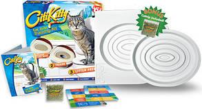 Citi Kitty Cat Toilet Training Система приучения кошек к унитазу, фото 2