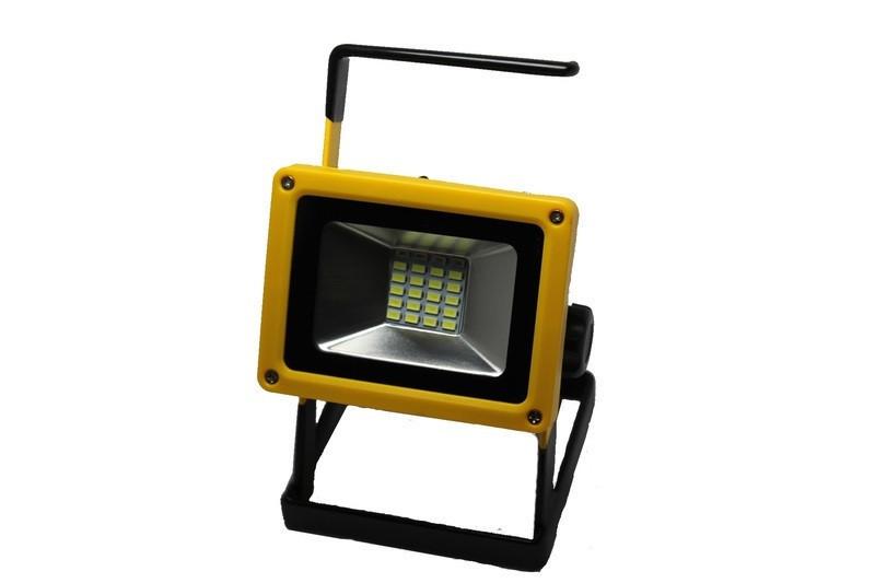 Светодиодный ручной фонарь - прожектор Bailong BL-204 (3 режима) 30W