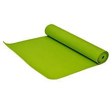 Многофункциональный коврик для йоги MS 1846-1 Оранжевый коврик для фитнеса, фото 3