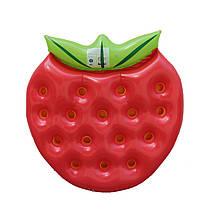 "Надувной матрас - плот ""Клубника"", диаметр 1,4*1,4m, фото 3"