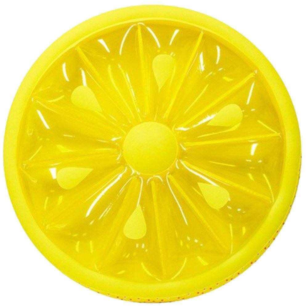 """Надувной матрас - плот """"Лимон"""", диаметр 143 см"""
