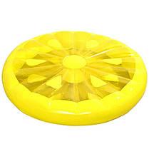 "Надувной матрас - плот ""Лимон"", диаметр 143 см, фото 2"